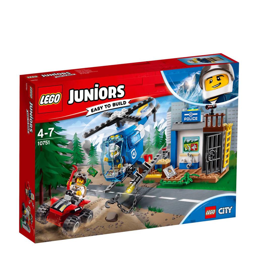 LEGO Juniors City politieachtervolging in de bergen 10751