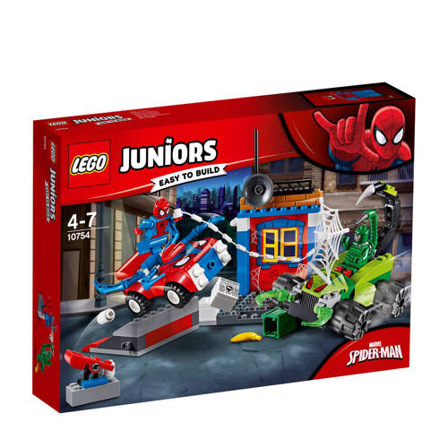 LEGO Juniors Super Heroes Spider-Man vs. Scorpion straatduel 10754 kopen