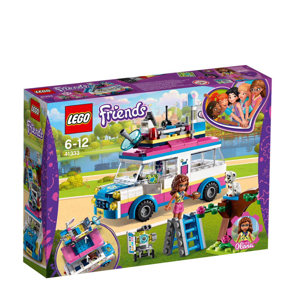 LEGO Friends Olivia's missievoertuig  41333
