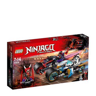 Ninjago straatrace van de slangenjaguar 70639
