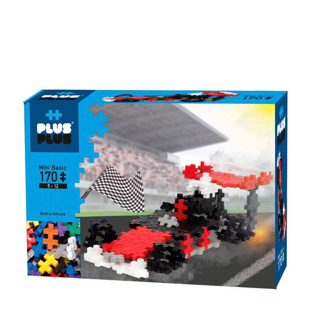 Plus-Plus  mini basic racewagen 170 stuks
