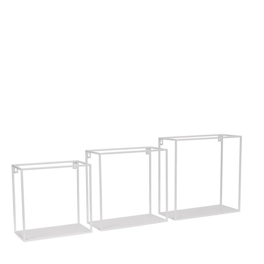 Kidsdepot wandplank (set van 3), Wit