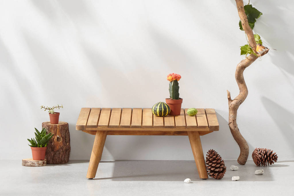 Wehkamp Home salontafel (65x65 cm) Kyoto, Bijzettafel