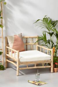 whkmp's own loungestoel Long Island, Naturel + wit