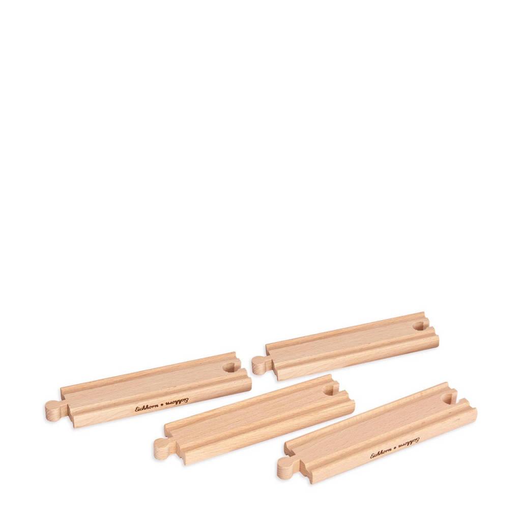 Eichhorn houten rechte rails