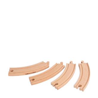 houten grote bochten