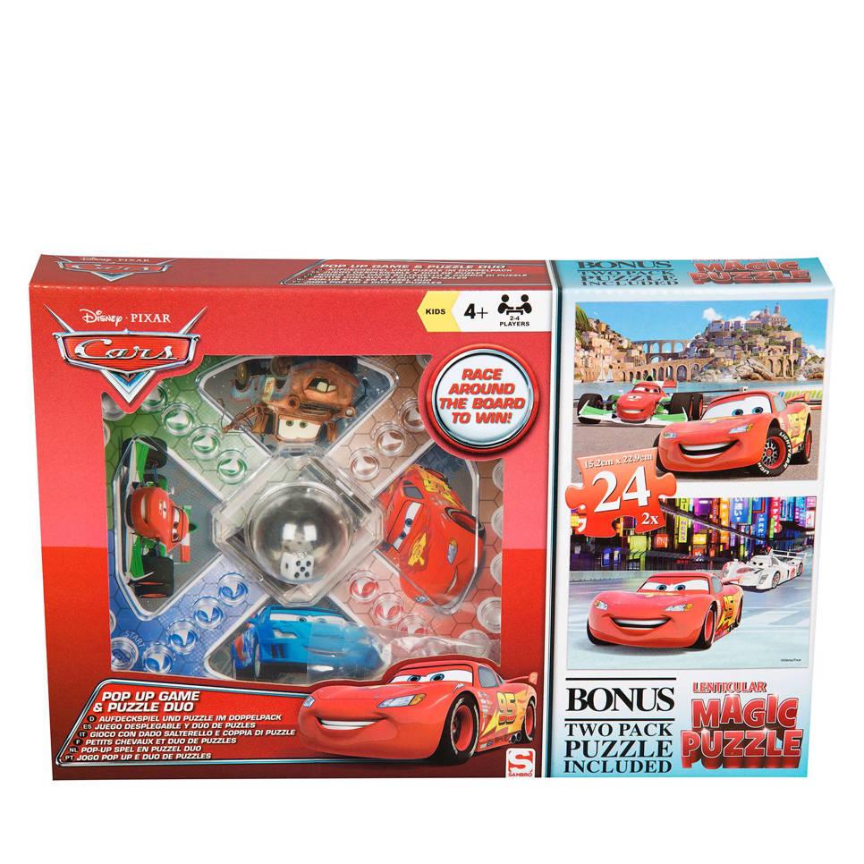 Disney Pixar Cars mens erger je nietset  legpuzzel 48 stukjes