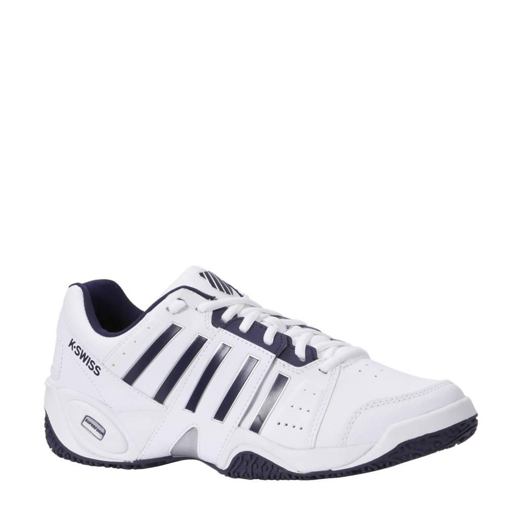 K-Swiss Accomplish III Omni tennisschoenen, Wit/donkerblauw