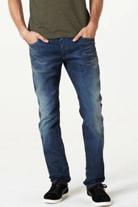JACK & JONES JEANS INTELLIGENCE slim fit jeans Tim medium blue, Mid blue