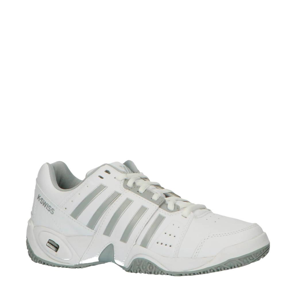 K-Swiss Accomplish III Omni  tennisschoenen wit/grijs, Wit/grijs