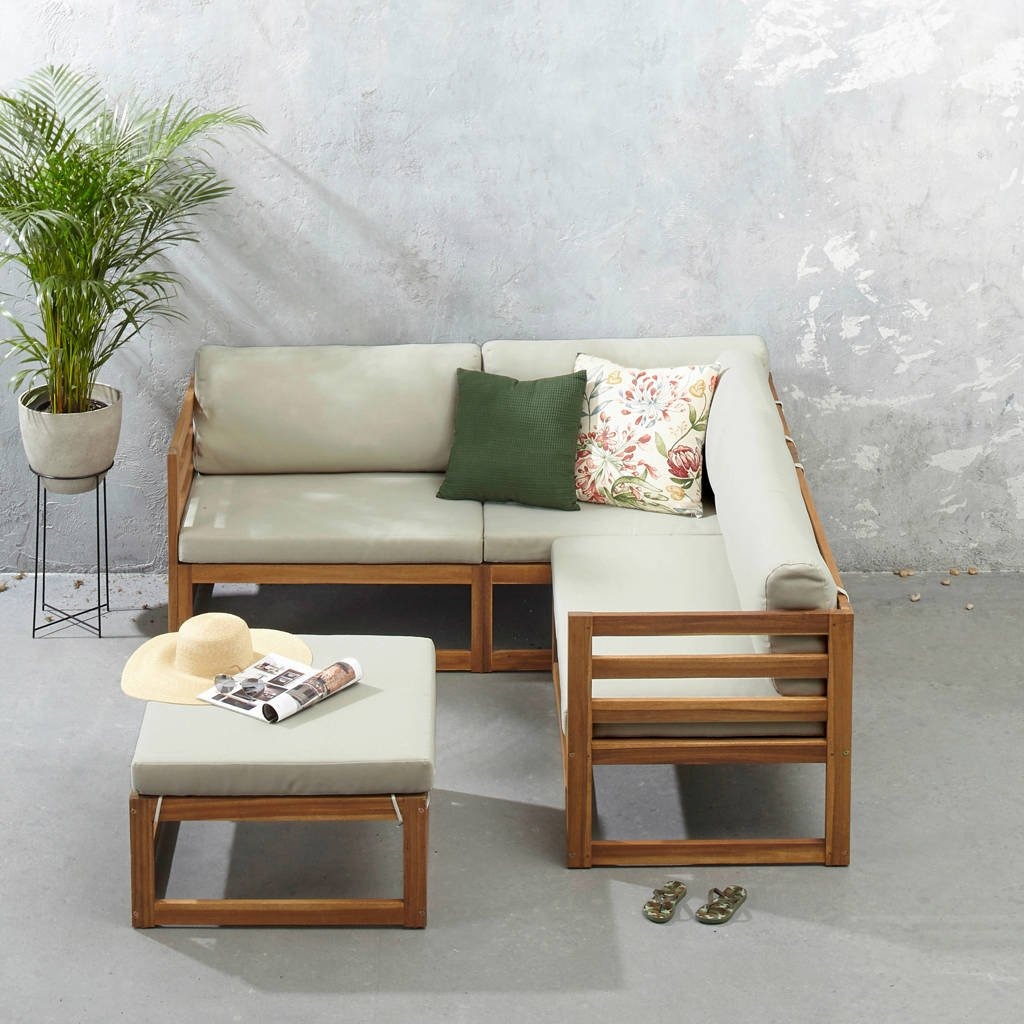whkmp's own loungeset Santiago, zand/beige