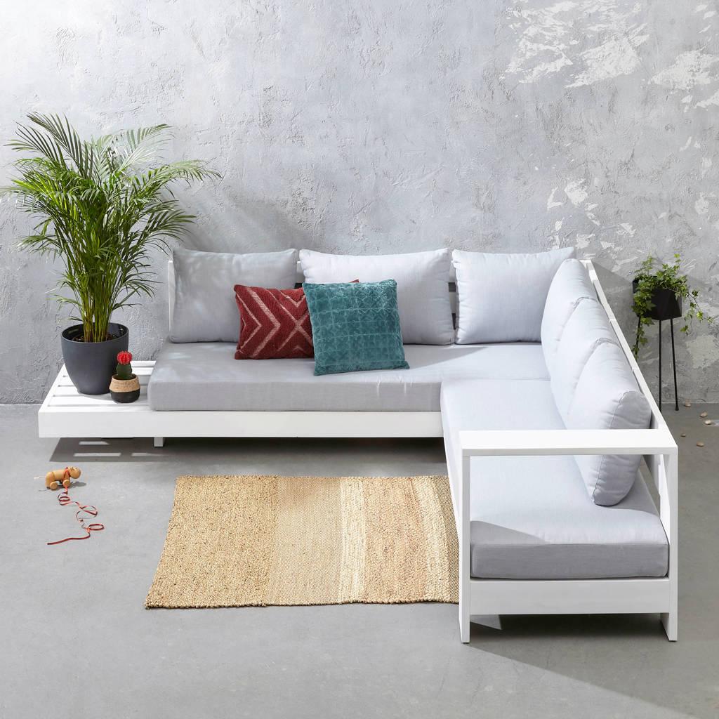 whkmp's own loungebank Belmonte, Wit/grijs