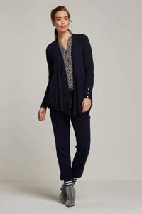 ESPRIT Women Collection fijngebreid vest, Donkerblauw