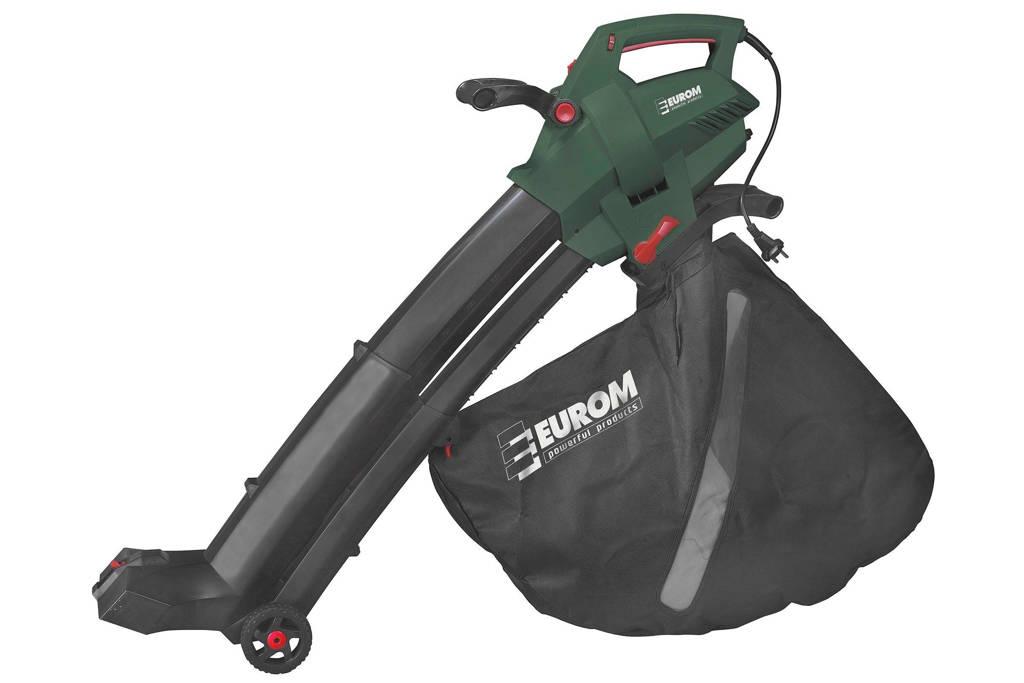 Eurom EBR3000 elektrische bladblazer, Groen