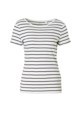 Women Casual T-shirt met streepdessin