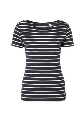 Women Casual T-shirt met streepdessin