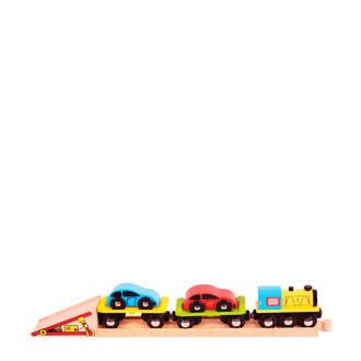 houten autotransporttrein