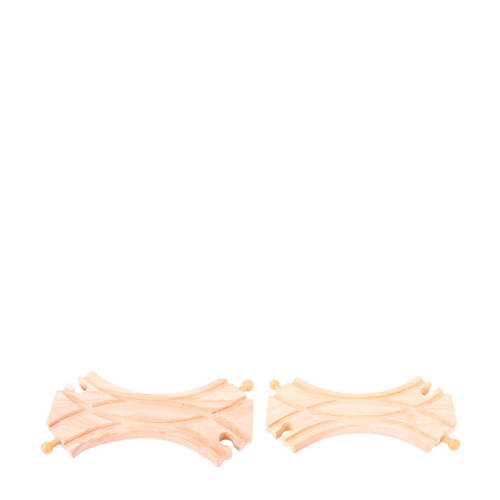 Big Jigs houten rails 2 zijdige links rechts splitsing kopen