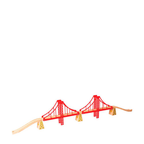 Big Jigs houten rails dubbele hangbrug kopen