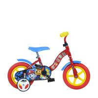 Dino Bikes Paw Patrol 10 inch kinderfiets, Rood/blauw