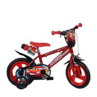 Dino Bikes Cars 12 inch kinderfiets, Rood