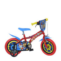 Dino Bikes Paw Patrol 12 inch kinderfiets, Rood/blauw