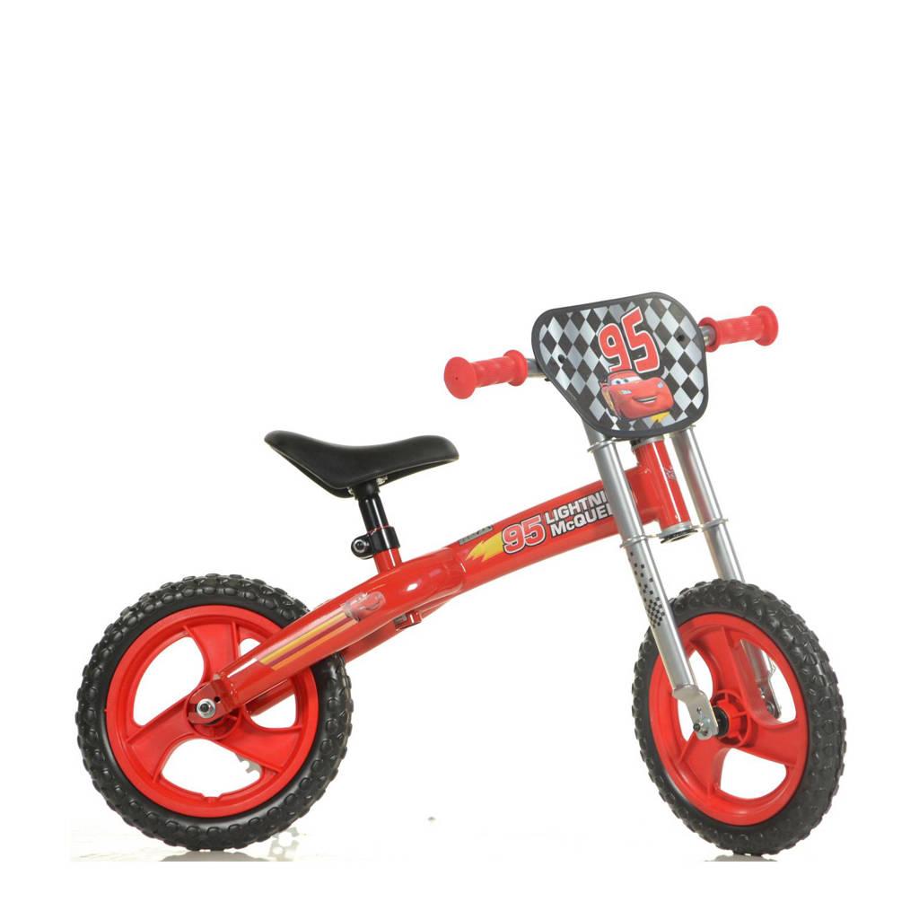Dino Bikes loopfiets Cars, Rood
