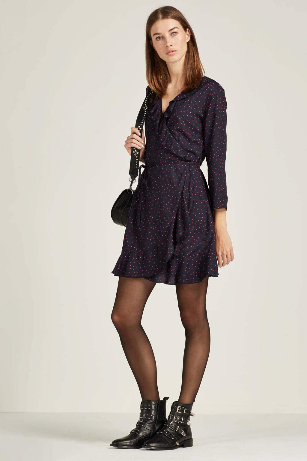 1af6139e0fb3be ONLY wikkel jurk met stippen