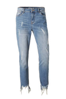cropped straight fit jeans (dames)
