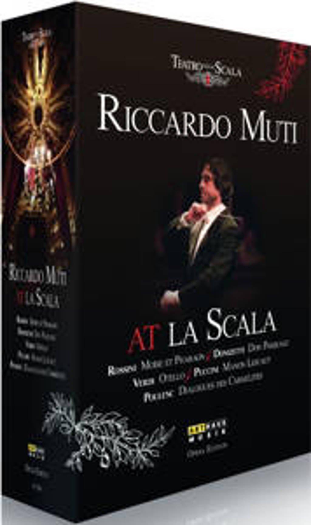 Joach Friedrich Gulda; Limpe Fuchs - Riccardo Muti At La Scala 5 Opera's (DVD)