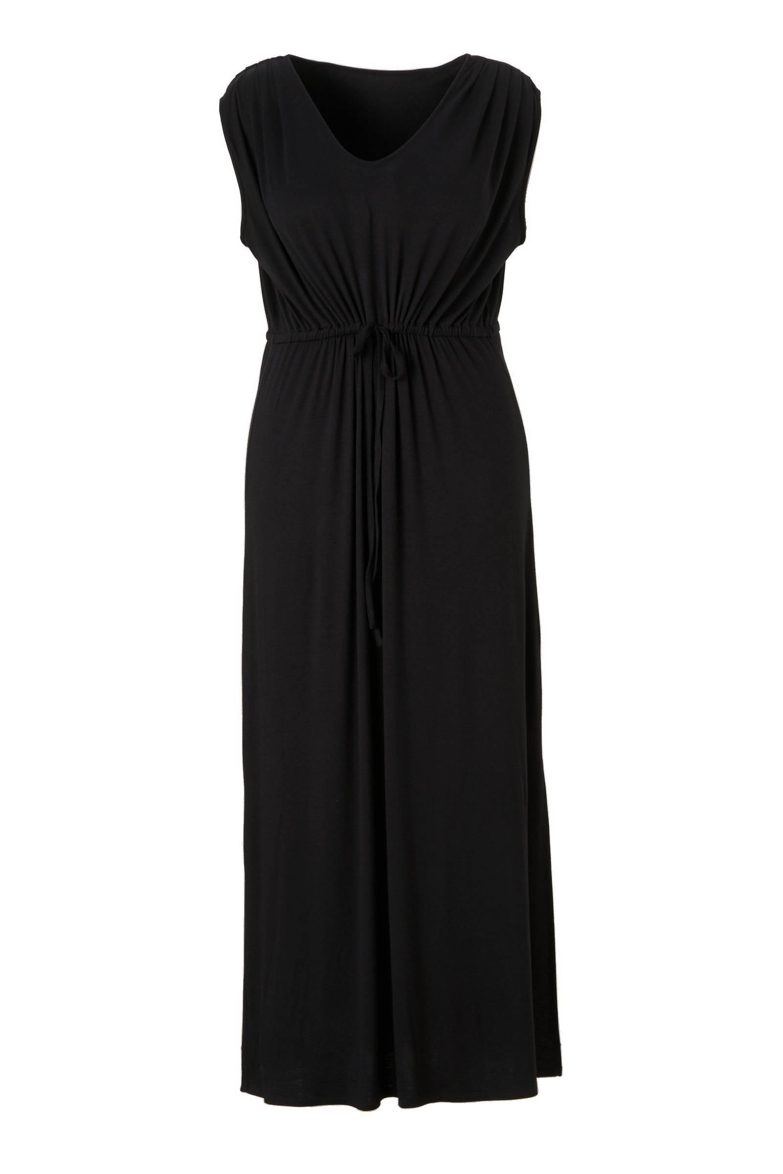 jurk zwart lang
