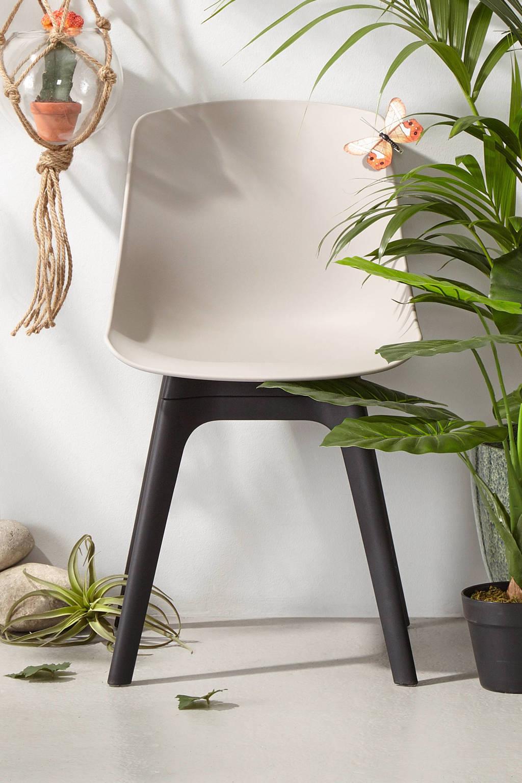 whkmp's own tuinstoel Sado, Taupe/zwart