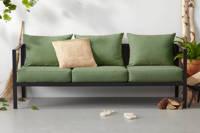 whkmp's own loungebank Atlantic, Groen/zwart