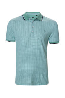 slim fit polo groen