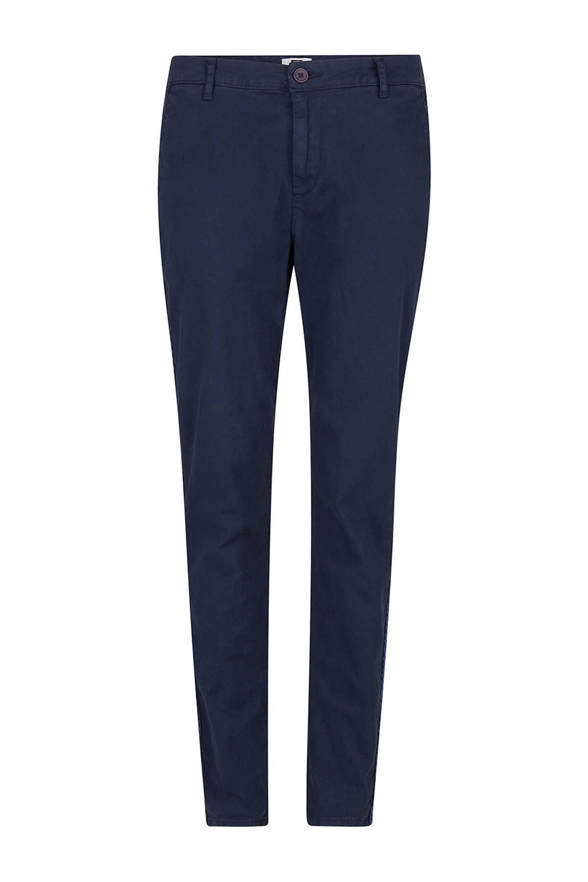 Luna relaxed fit chino donkerblauw