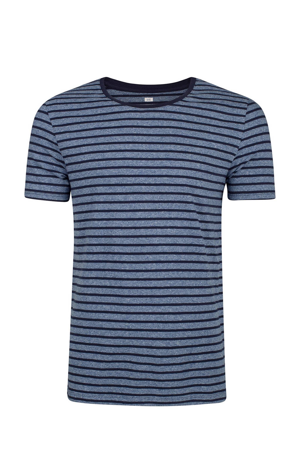 WE Fashion gestreept T-shirt, Blauw