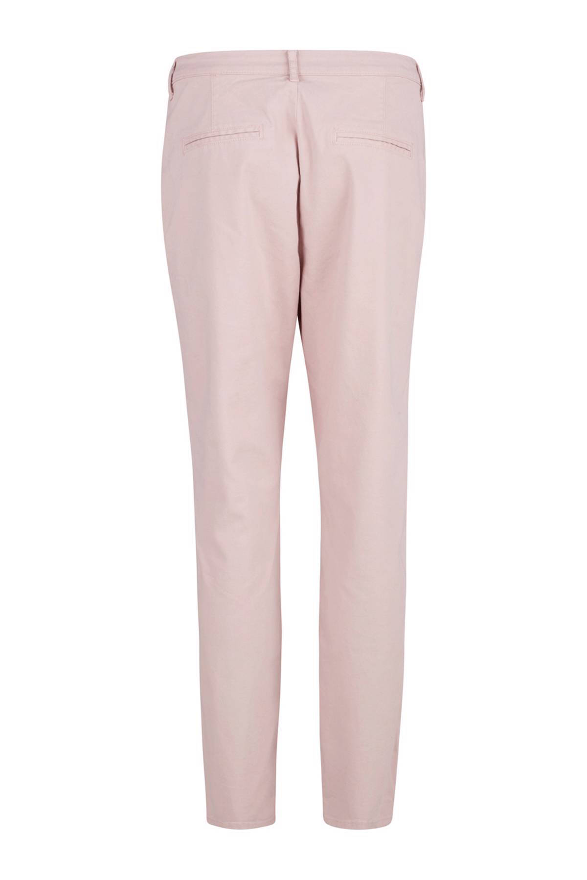 Luna relaxed fit chino lichtroze