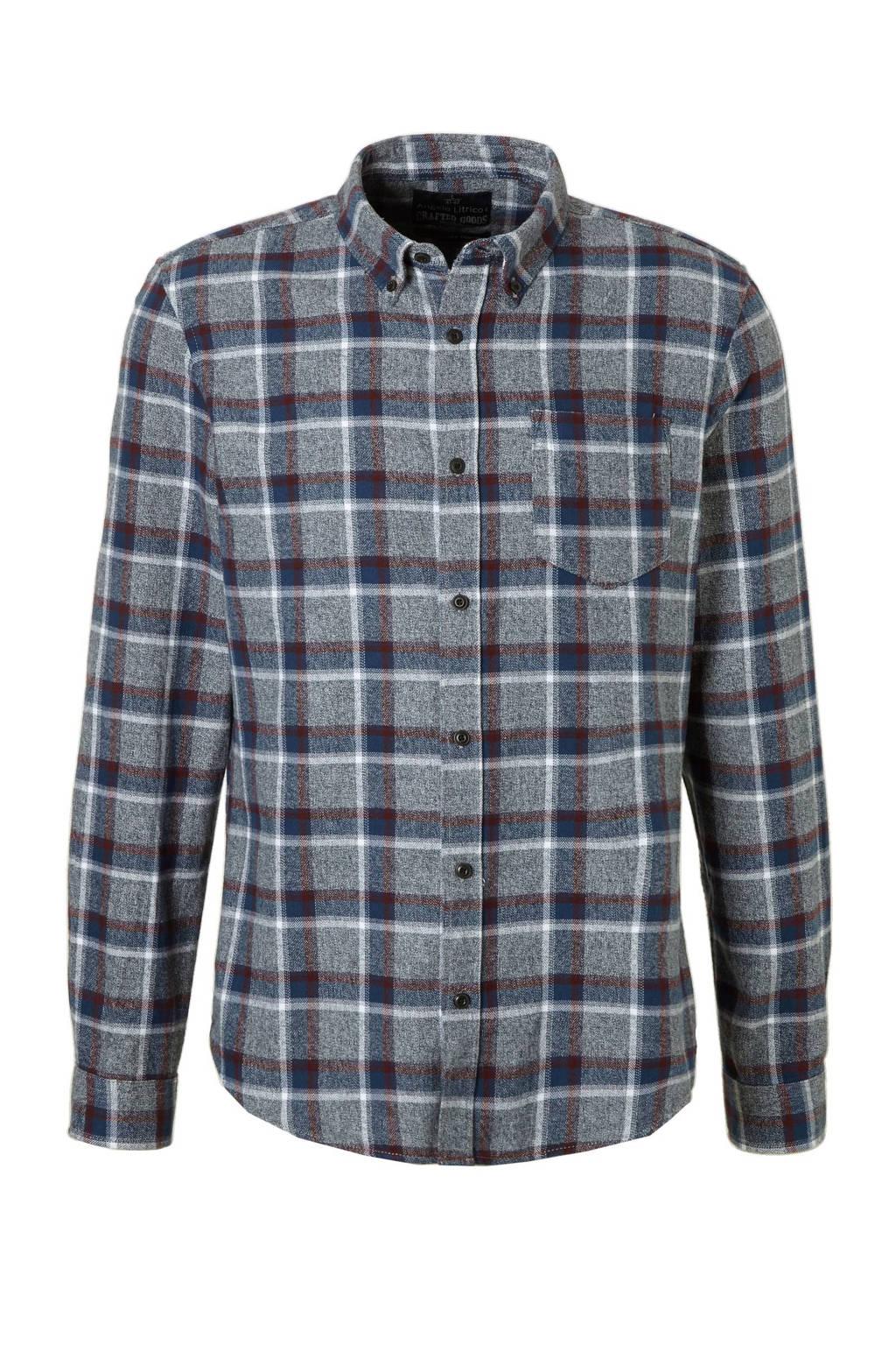 Flanellen Overhemd.C A Angelo Litrico Flanellen Overhemd Wehkamp