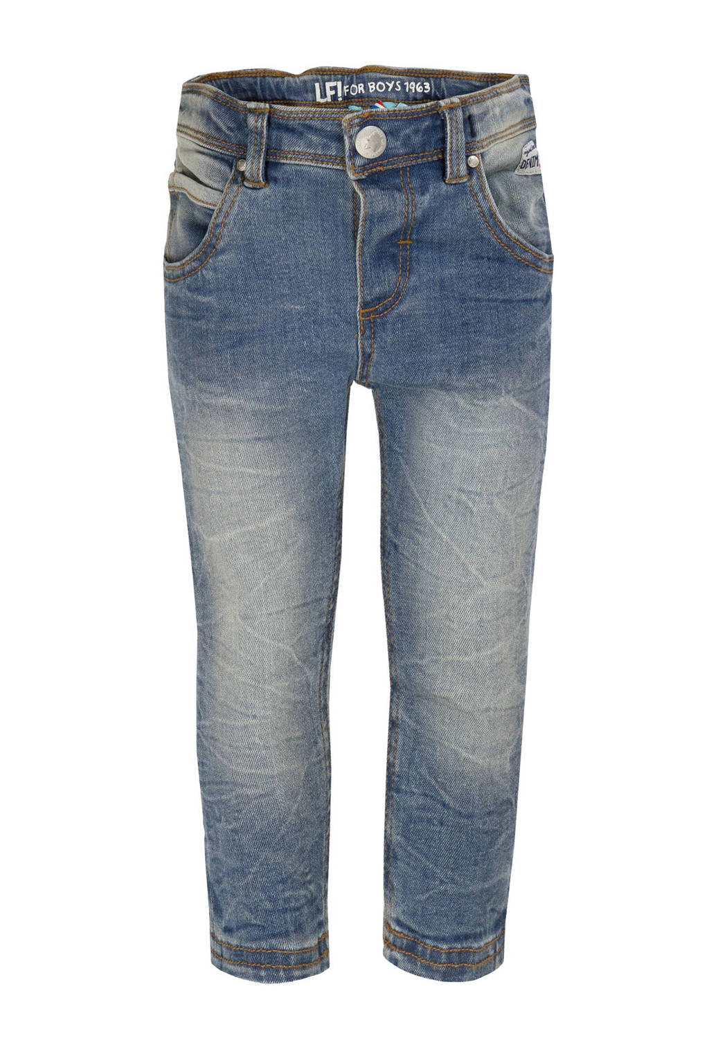 lief! slim fit jeans, Stonewashed