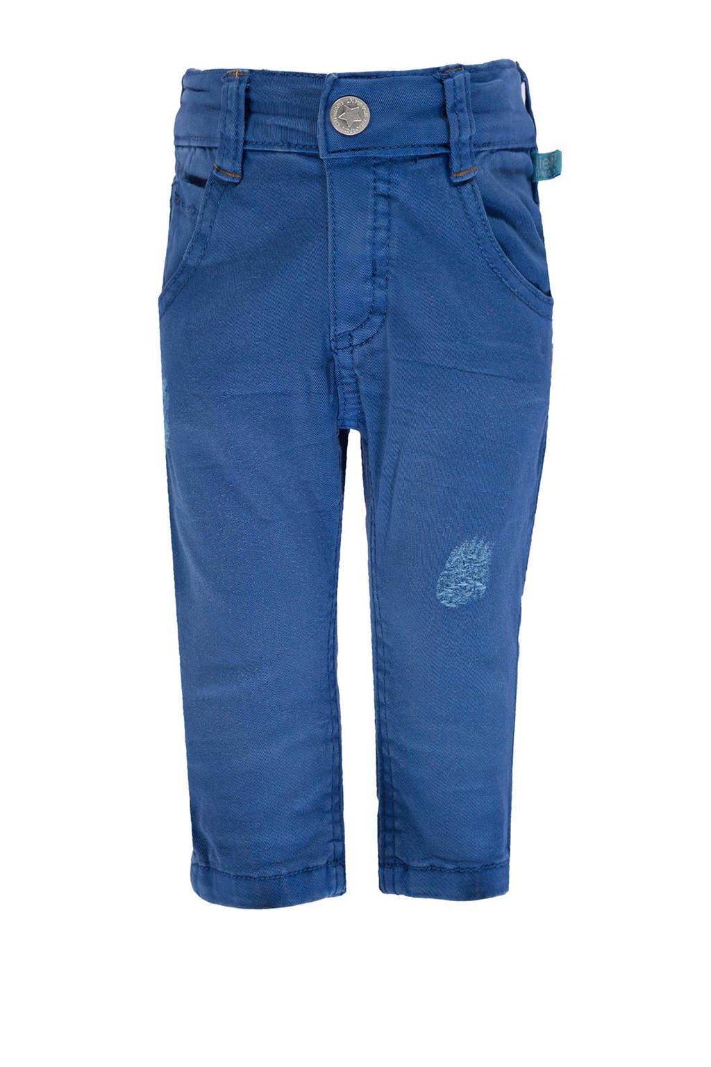 lief! slim fit broek, Blauw