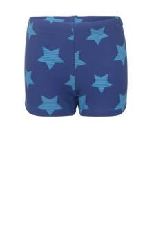 zwemboxer met sterren donkerblauw