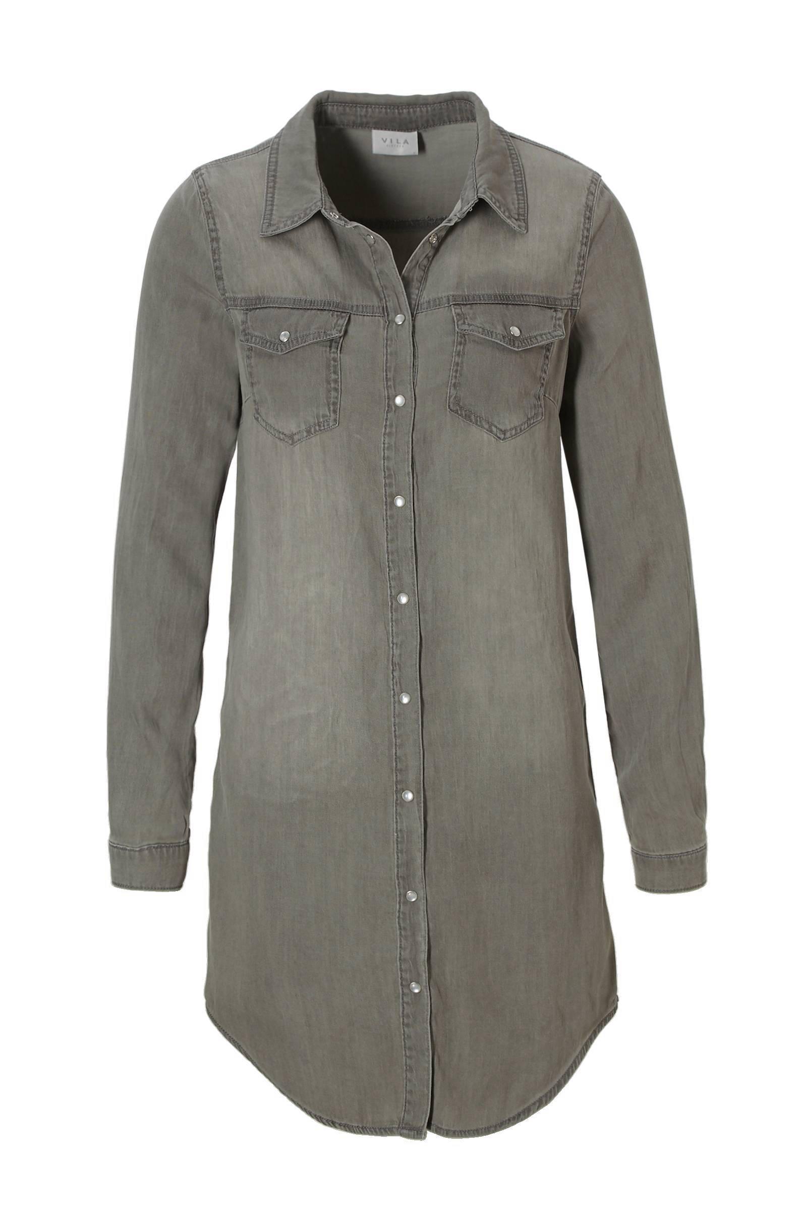 blousejurk grijs