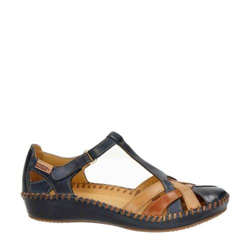 Pikolinos leren sandalen