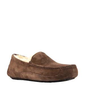 Ascot suède pantoffels bruin
