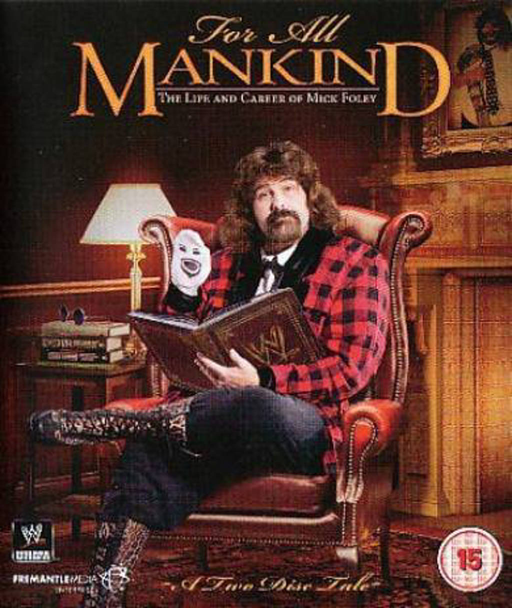 WWE - For All Mankind The Life & Career O (Blu-ray)