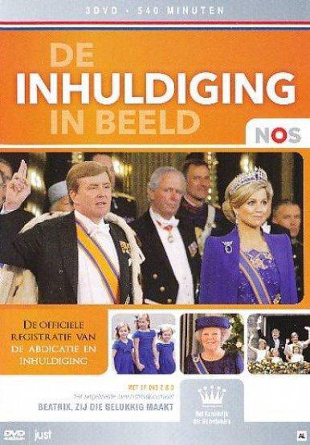 De inhuldiging in beeld (DVD)