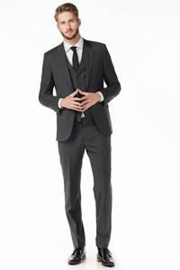 Tommy Hilfiger Tailored wollen pantalon, Donkergrijs