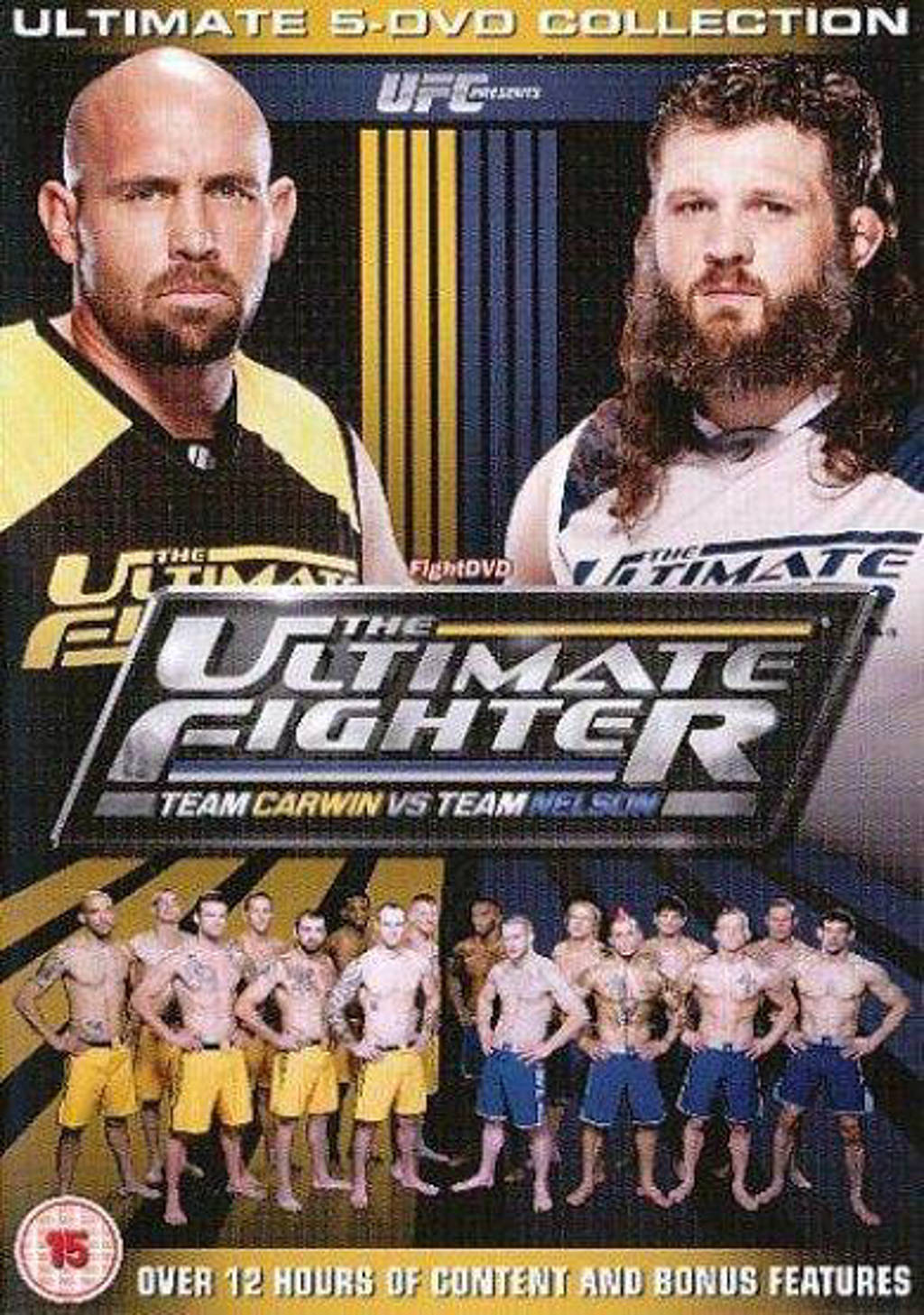 UFC - The Ultimate Fighter Carwin vs Nelson (DVD)