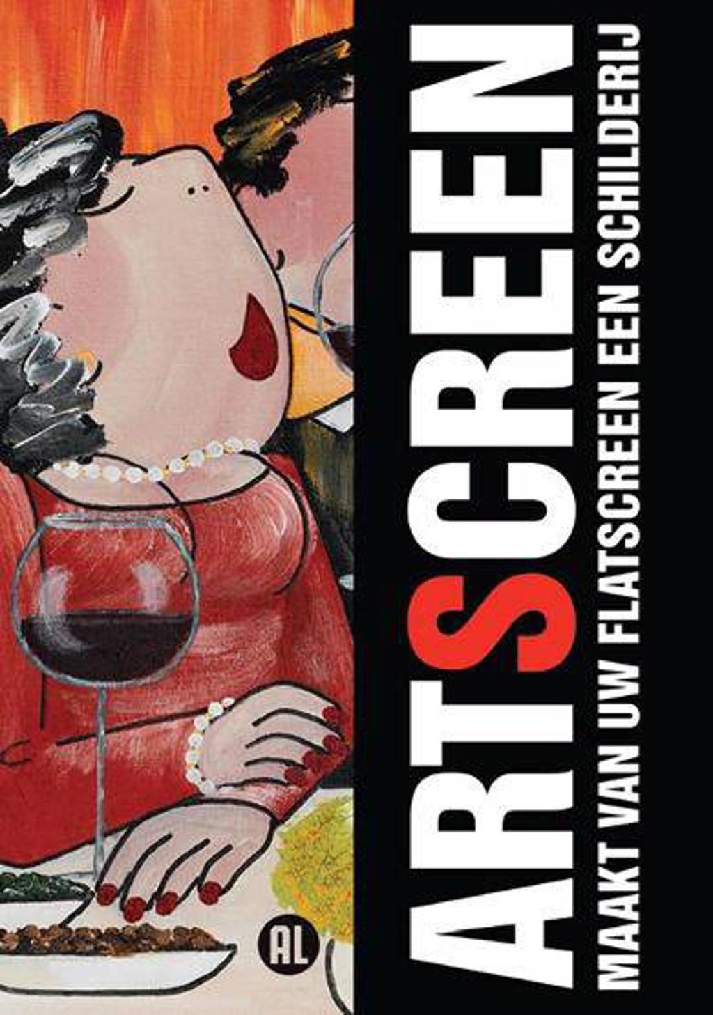 Artscreen - Schilderij op je flatscreen (DVD)