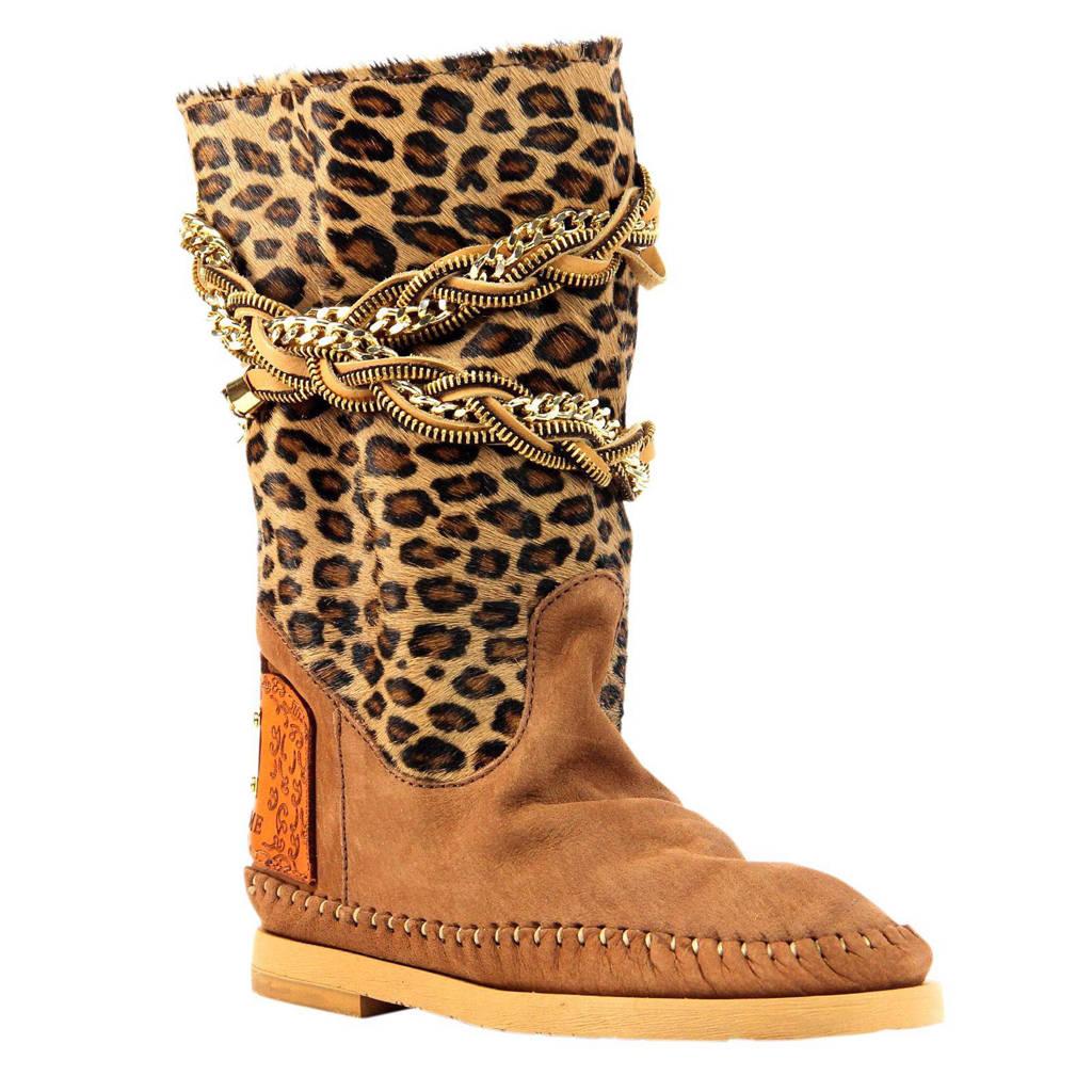 stopcontact online meer foto's groothandel outlet Karma of Charme nubuck laarzen | wehkamp